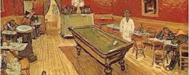 Cuadro: Café de noche interior, de Van Gogh