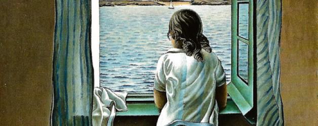 Cuadro: Muchacha en la ventana de Salvador Dalí