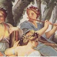 Cuadro: Clio, Euterpe y Thalie de Eustache Lesueur
