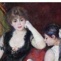 Cuadro: Palco en el teatro  de Renoir