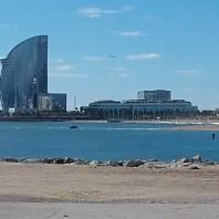 Cuadros: La playa de Barcelona